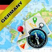 德国 - 离线地图和GPS导航仪 1.8
