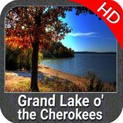 湖大切诺基Ò HD - GPS 地图 航海家