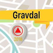 Gravdal 离线地图导航和指南 1