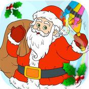 着色书和圣诞假期页从 3 至 6 年的圣诞节 1