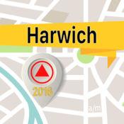Harwich 离线地图导航和指南