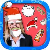 圣诞照片编辑器-圣诞老人和圣诞照片贴纸 1