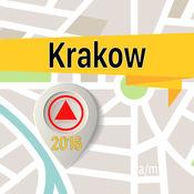 克拉科夫 离线地图导航和指南 1
