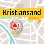克里斯蒂安桑 离线地图导航和指南 1