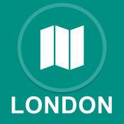伦敦,英国 : 离线GPS导航 1