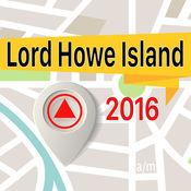 Lord Howe Island 离线地图导航和指南 1