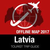 拉脱维亚 旅游指南+离线地图