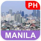 菲律宾马尼拉 离线地图 - PLACE STARS v1.1