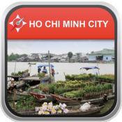 离线地图 胡志明市,越南: City Navigator Maps