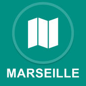 法国马赛 : 离线GPS导航 1