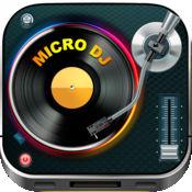 Micro DJ Free - 微DJ专业人员——派对音乐音效和mp3音乐编辑