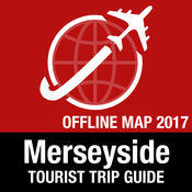Merseyside 旅游指南+离线地图