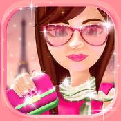 巴黎时尚装扮女孩游戏: 化妆和美丽化妆女孩游戏