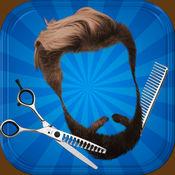 理发店美发沙龙 – 添加胡须或改变你的发型免费 1