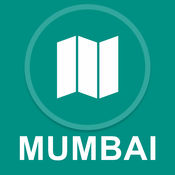 印度孟买 : 离线GPS导航