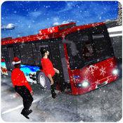 圣诞晚会巴士模拟3 d 旅游滑雪胜地 1.1