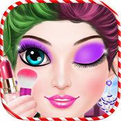 圣诞晚会女孩化妆 - 时尚女孩游戏 1