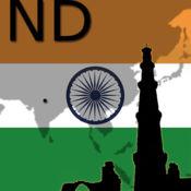 新德里地图