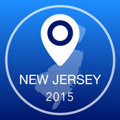 新泽西州离线地图+城市指南导航,景点和运输