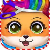 圣诞宠物美发沙龙:小狗游戏的孩子 1