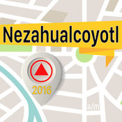 Nezahualcoyotl 离线地图导航和指南 1