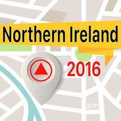 Northern Ireland 离线地图导航和指南 1