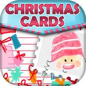 圣诞 邀请 和 问候 卡 1