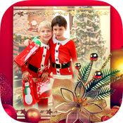 圣诞节照片框架2016年 1