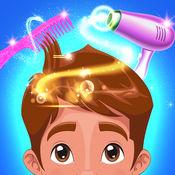 理发店和美发沙龙 - 男孩,孩子和家庭的免费乐趣游戏