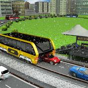 中国城市高架公共汽车驾驶3D模拟器比赛 - TEB: Transit El