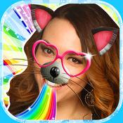 動物臉照片编辑器: 照片编辑软件贴纸和过滤器 1
