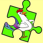 疯狂的鸡七巧板...