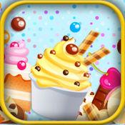 五彩水果霜淇淋:餐厅模拟经营儿童游戏