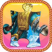 卡通拼图免费游戏 - 对于Skylanders 1