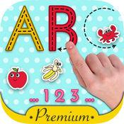 英文字母表ABC学英语背单词识字&儿童画画游戏  1