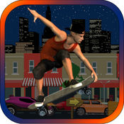Beaver Skating Dash: 后空翻滑冰登机疯狂免费! 1