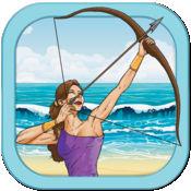 海滩射手 - 沙·玩水酷动作射击弓箭免费游戏 Beach Archer