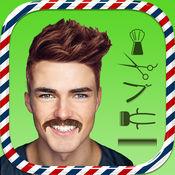理发店 - 男士发型和胡须应用 1