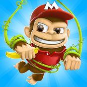 香蕉岛 - 猴子的史诗故事 – 跑和跳街机游戏