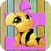 可爱动物农场拼图 - 魔术神奇HD益智游戏免费为孩子和幼儿的学习游戏