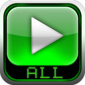 AVI, FLV, WMA, RMVB, MPEG, MP4 播放器 HD