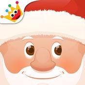 圣诞 - 拼图和色彩为孩子