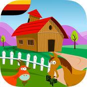冒险在农场游戏中的德国儿童 1.1