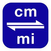 厘米换算为英里   cm换算为mi 3.0.0
