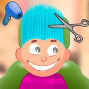儿童游戏/疯狂发沙龙(蓝色头发) 1