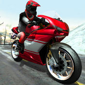 极速摩托冬季高速公路拉力赛 免费版