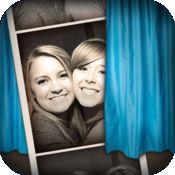 自动照片克隆相机 - 复古风格的Photo Booth 1