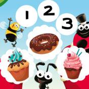 123面包计数游戏的孩子!免费学习游戏学习逻辑思维和数学