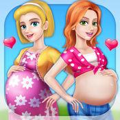 两个好友的新生儿 - 紧急剖腹产