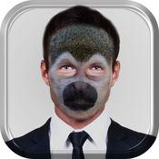 动物头面具 – 最佳人脸编辑器和照片掺混机开关与动物面孔